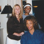 Annie with Kandi Burris and Donna Summer