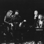 On stage at the keyboard with Gladys Knight, Beth Nielsen Chapman, Judy Collins & Bonnie Raitt